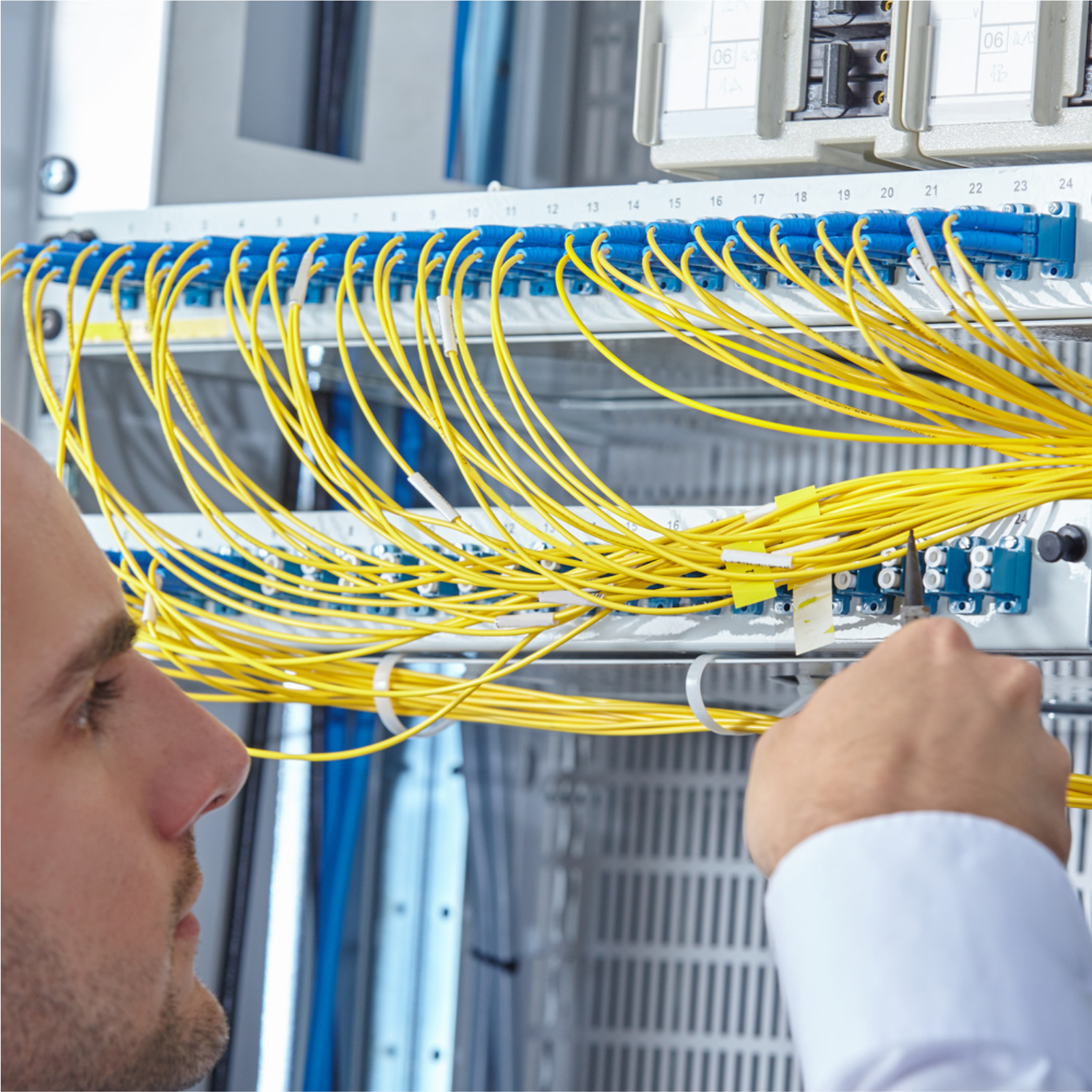 Alantec Structured Cabling System With A 25 Year Warranty Wiring Ups Fiber Offer